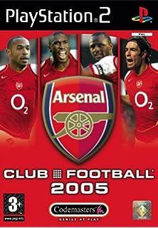 Club Football Arsenal 2005 PS2
