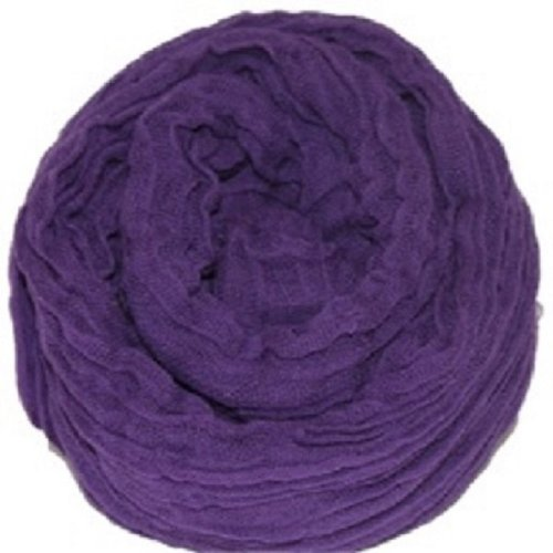 """Large Purple Color Cheesecloth wrap 36"""" X 72"""" (3ft X 6ft) by Posey Pillow"""