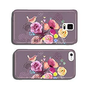 Watercolor card cell phone cover case iPhone5