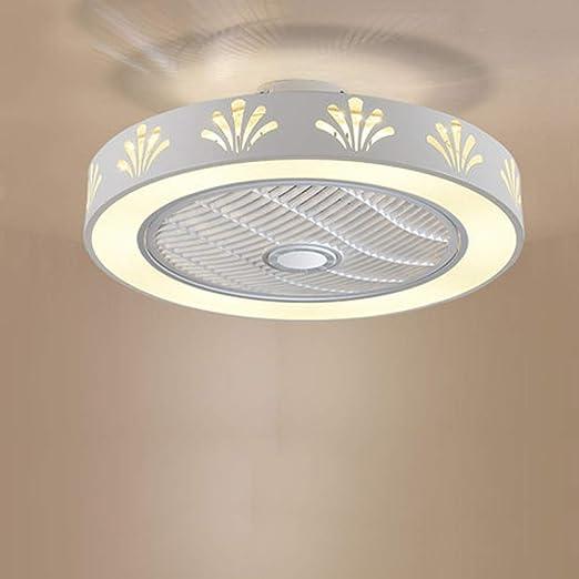 Huhubling Luz del Ventilador De Techo, Moderna Led Ventilador De ...