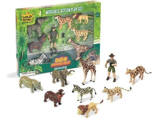Wooden African Animals - 3