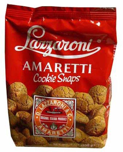 Lazzaroni Amaretti Cookie Snaps, 7-Ounce