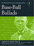 Base-Ball Ballads, Grantland Rice, 0786420383