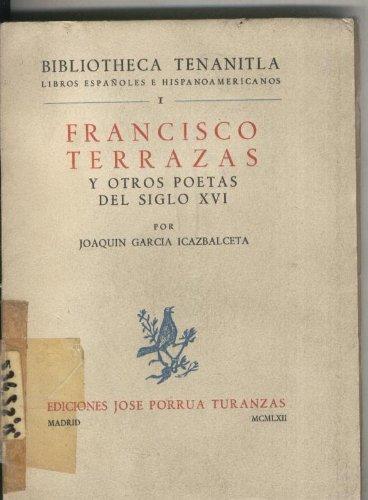 Francisco Terrazas y otros poetas del siglo XVI