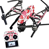 MightySkins Protective Vinyl Skin Decal for Yuneec Q500 & Q500+ Quadcopter Drone wrap cover sticker skins Red Petals