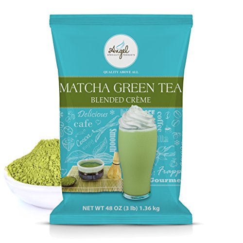 Angel Specialty Products Matcha Green Tea Blended Crème Mix [3 LB]