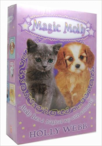 Holly Webb Magic Molly 6 Books Collection Children Animal Pack Set ...