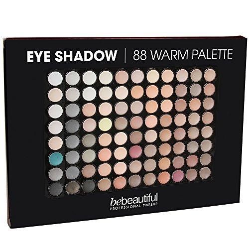 (ALINCAS Eyeshadow 88 Shades Palette, Warm)