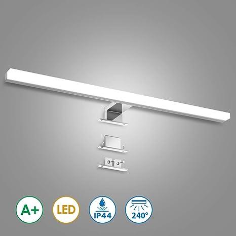 kingso led spiegelleuchte badleuchte 12w 60cm ip44 led  spiegellampen unheimlich stilvoll #1