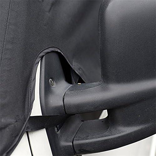 Regno Unito su misura per parabrezza anteriore SW117BLACK Wrap copertura nero