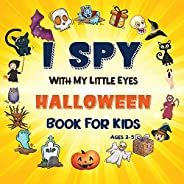 I Spy Halloween Book: A Fun Halloween Activity Book For Preschoolers & Toddlers | Interactive Guessing Gam