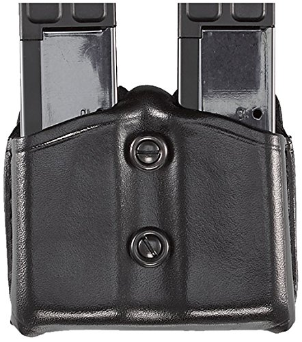 Aker Leather 616 Carry Comp II, Black, Fits Most Standard Colt 1911, Sig Sauer P220, P239, Smith & Wesson Single Stack .45 Magazines
