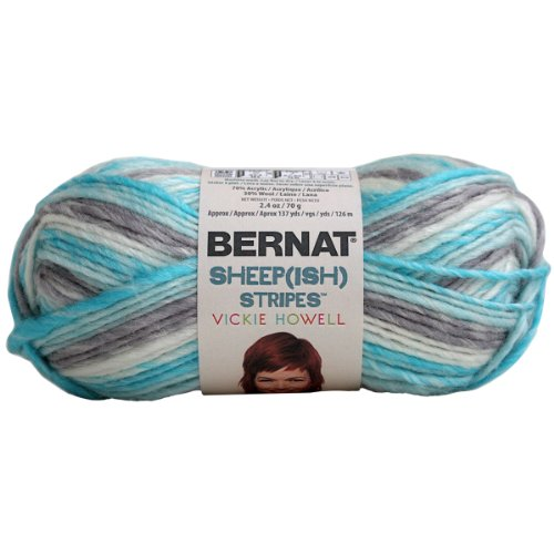 (Brand New Sheep(ish) Stripes Yarn By Vickie Howell-Homme(ish) Brand New)