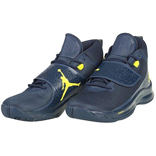 Armory Basketballschuhe 5 Navy Electrolime Herren Super PO Fly Navy Armory Nike 7wxTUqnx