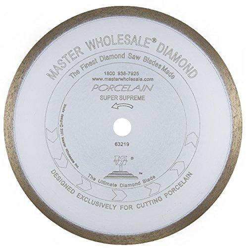 Supreme Grade Continuous Rim (Master Wholesale White Porcelain Continuous Rim Diamond Blade (8