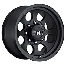 Mickey Thompson Classic III 16 Black Wheel / Rim 6x5.5 with a 0mm Offset and ...
