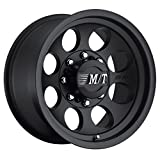 "Mickey Thompson Classic III Wheel with Satin Black Finish (17x9""/5x5"") -12 millimeters offset"