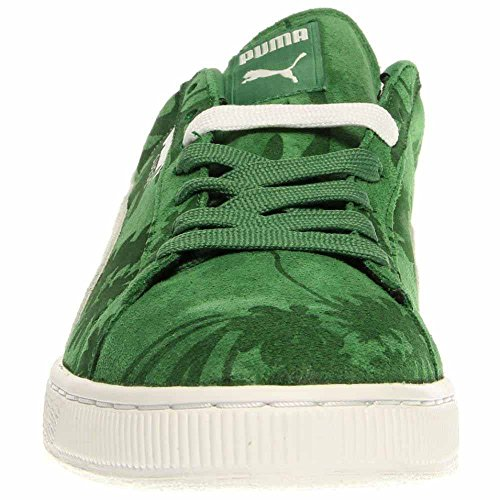 PUMA Mens Suede Classic Tropicali Medium Green/White 356151 07 cb7JNqhxC