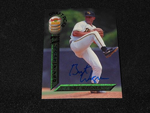 1994 Signature Rookies Card #19 Bret Wagner Signed Pack Pulled Insert RARE M14