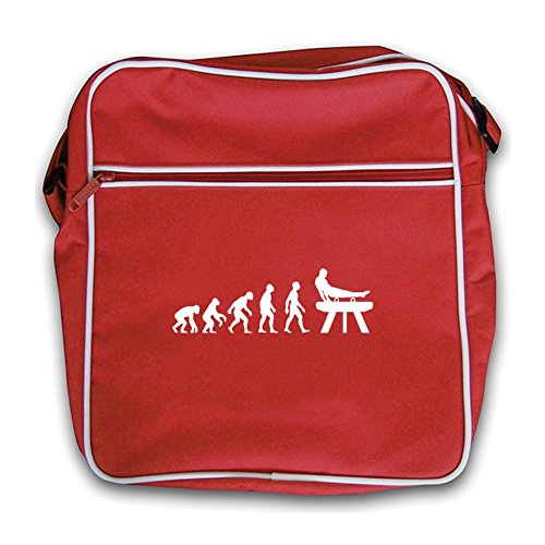 Bag Horse Man Retro Red Flight Pommel Of Red Evolution nPqxTfpY