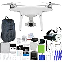 DJI Phantom 4 Pro+ Quadcopter + Xtreme VR Vue II (For iPhone/Android Screen Size 3.5-6) + Intelligent Flight Battery (5350mAh) + 64GB Micro SD + Backpack Pro II + Car Charger & More!