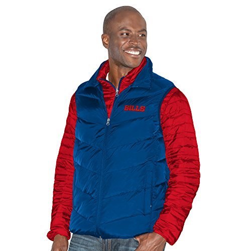 G-III Sports by Carl Banks Adult Men Three and Out 3-in-1 Systems Jacket, Red/Royal, 3X