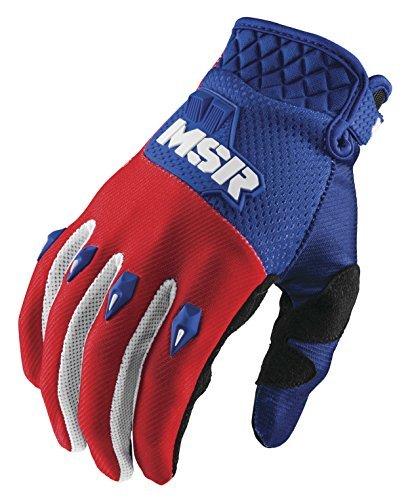 MSR Legend 71 Gloves, Distinct Name: Red/White/Blue, Gender: Mens/Unisex, Primary Color: Red, Size: (Msr Glove)