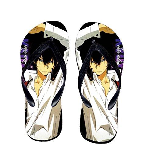 Bromeo Hitman Reborn Anime Unisex Flip Flops Chanclas 615