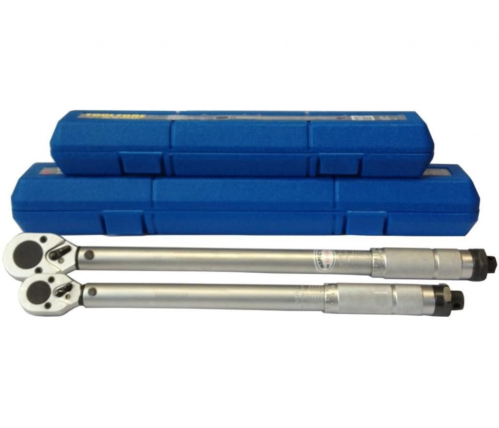 Professional Torque Wrench Set 3/8' and 1/2' Drive, 20-110NM & 42-210NM TZ