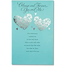 American Greetings Greatest Gift Anniversary Card with Foil