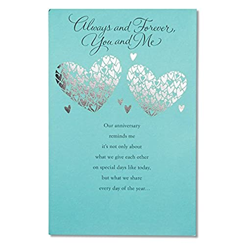 Anniversary cards for husband amazon american greetings greatest gift anniversary card with foil m4hsunfo