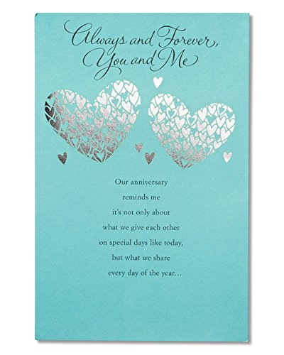 American Greetings Greatest Gift Anniversary Greeting Card with Foil