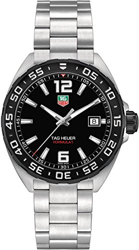 TAG Heuer Mens WAZ1110.BA0875 Analog Display Quartz Silver Watch