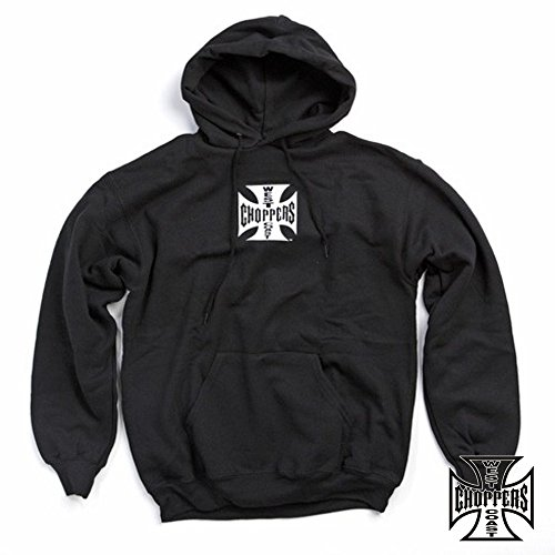 West Coast Choppers Hoody Iron Cross, Farbe:schwarz;Größe:L (West Choppers Hoodie compare prices)