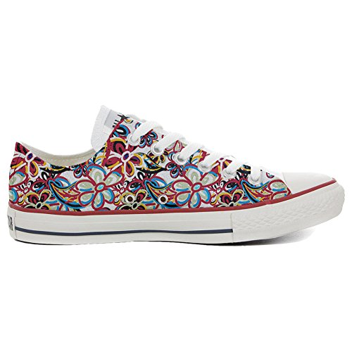 Converse All Star zapatos personalizados (Producto Artesano) Floreal Abstract