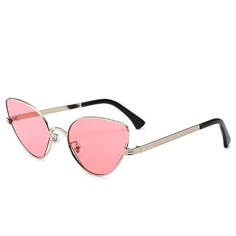Yangjing-hl Gafas Gafas Montura gradiente de Metal Color ...