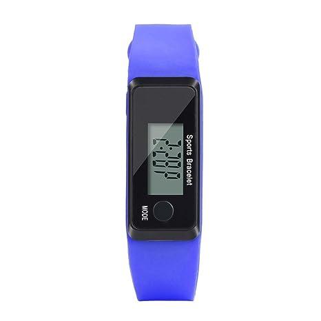 Hunpta@ Reloj Digital LCD con Contador de Calorías de Paso de ...