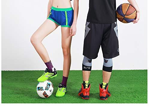 Chenqi Calzini da Calcio Antiscivolo in Gomma Dots Sport Grip Pads Fitness