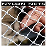 Indoor Outdoor Safety Net, Child Pets Protection Net, Nylon Rope Fence Net for Garden Patios Playgrounds, Decorative Mesh Balcony Stair Protective Netting (Size : 1x3m(3x10ft))