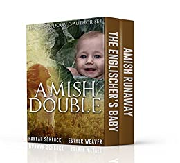 Amish Double Romance Two Book Author Set By Schrock