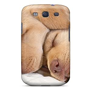 Hot GGZ2554dTgs Case Cover Protector For Galaxy S3- Animals Dogs Funny