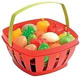 Ecoiffier - 966 - Jeu d'imitation - Panier Garni - Fruits et Légumes