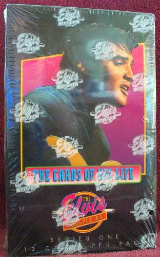 Elvis Presley The Cards of His Life Series 1 Trading Cards 36 Count Box