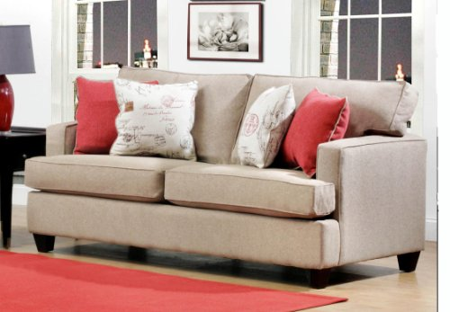 Chelsea Home Furniture Boulder Sofa, Unique Bisque