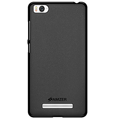 Amzer Pudding TPU Skin Case Back Cover for BlackBerry Leap - Retail Packaging - Black