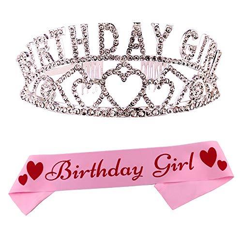 Birthday Girl Tiara and Sash For Birthday Sash