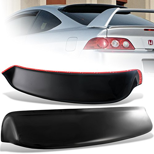 2002-2006 Acura RSX ABS Plastic Black Rear Roof Spoiler Window Visor Wing (Wing Window)