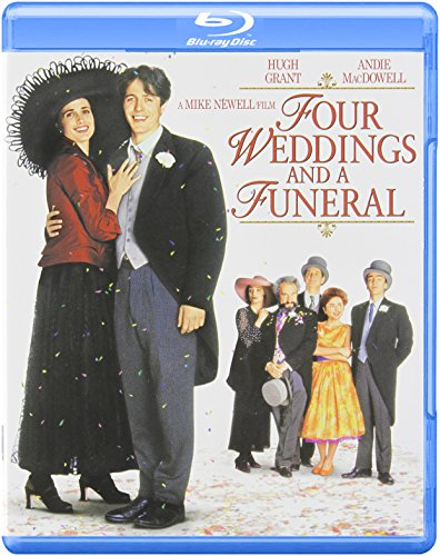 Four Weddings and A Funeral Blu-ray (Notting Hill Best Scene)