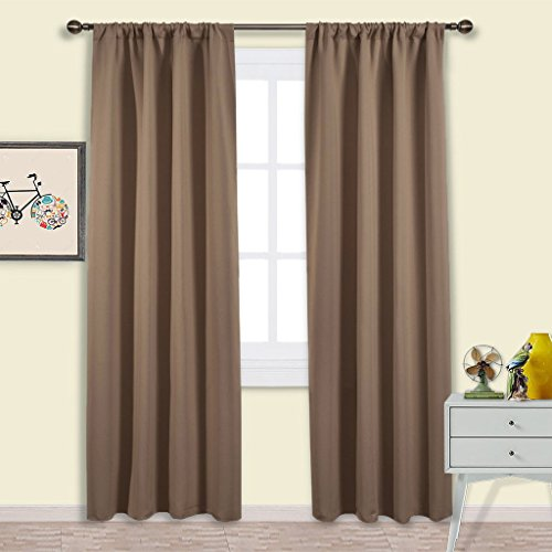From USA Nicetown Blackout Drapes And Curtains For Kitchen