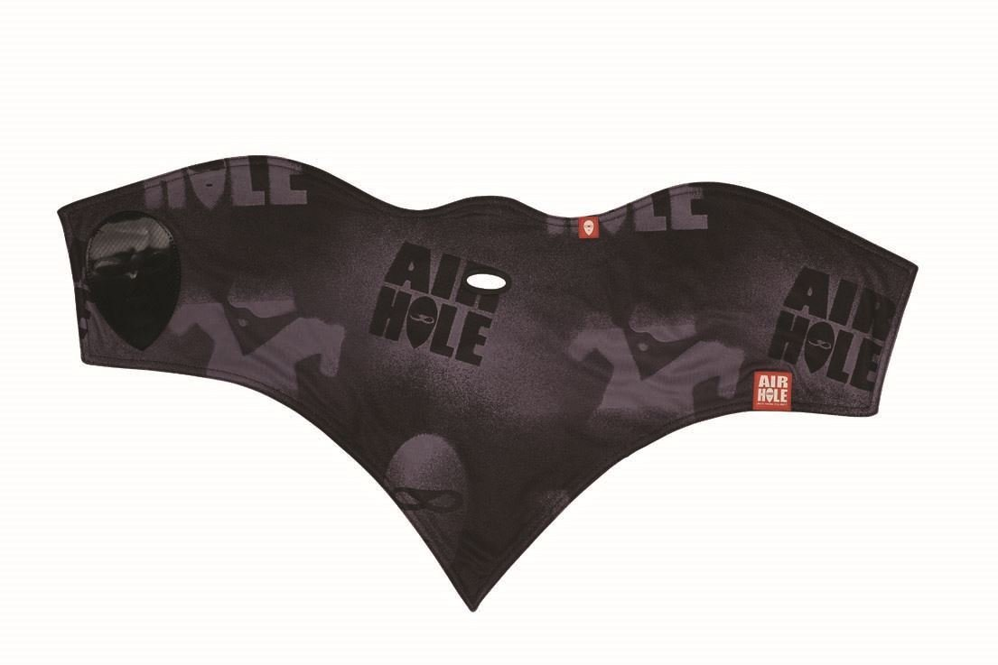 Airhole Standard Adult 2 Layer Snow Snowmobile Face Mask, Stencil, Medium/Large